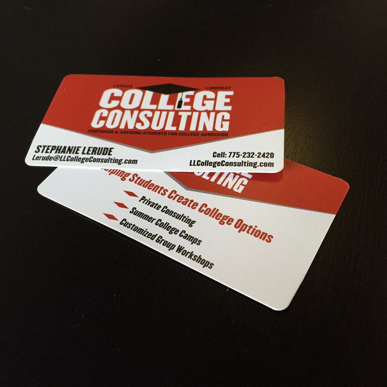 printing promotional services creative cc card